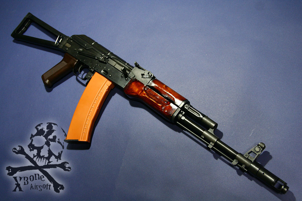 E&L AKS74N 塗装