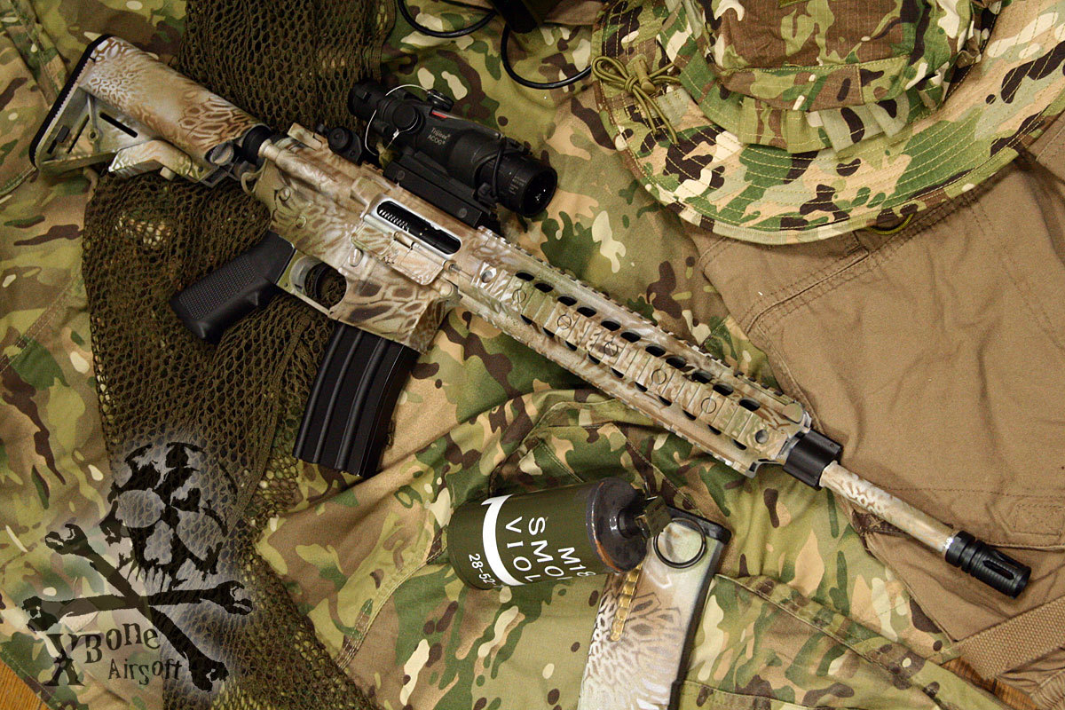 M4 Kryptek Highlander