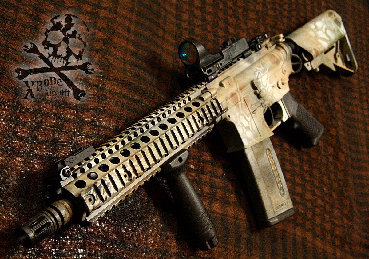M4 塗装 ハイランダー