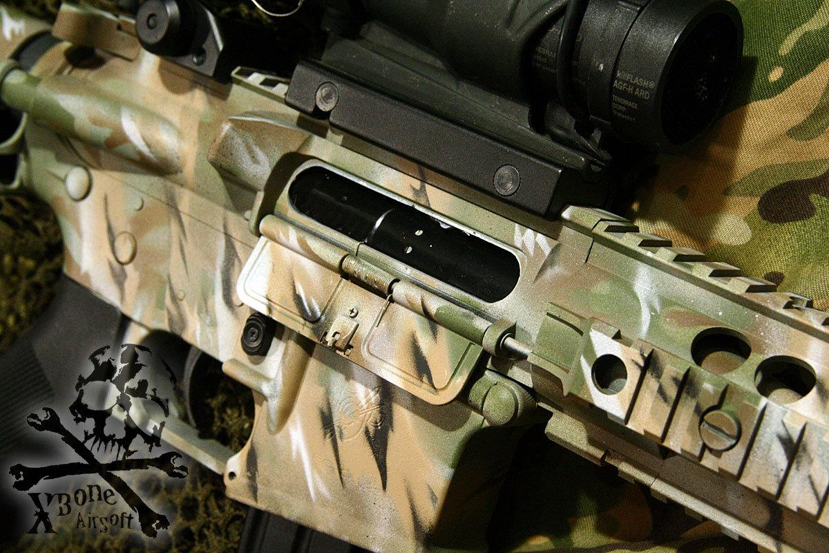 M4 塗装