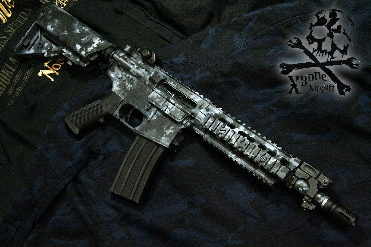 M4 フルメタル A-TACS LE