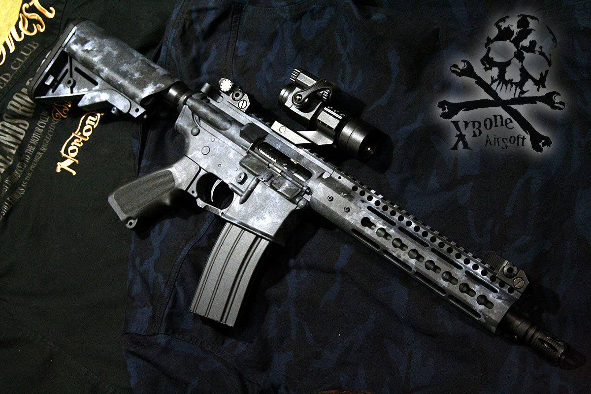 M4 KeyMod A-TACS LE