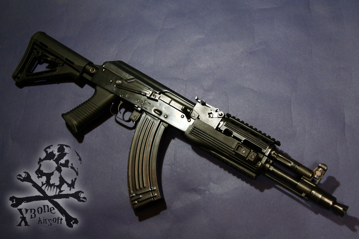 E&L AK104PMC-B M4ストック