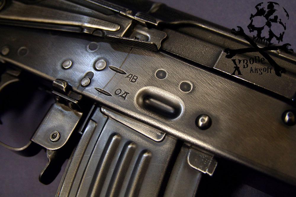 E&L製 AKM スチールレシーバー