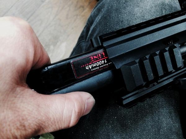 次世代HK416Cバッテリー内蔵加工