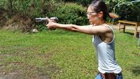 <ベレッタM92FS INOX>ヒロインが使う銃