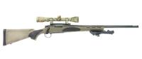 <7.62mm>M700で真鍮板を狙撃!