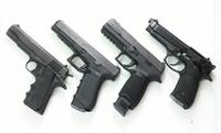 歴代の米軍制式拳銃(とその候補)が勢揃い!