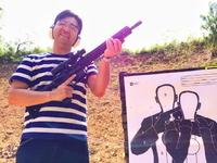 <5.56mmライフルで>人質を取った犯人のみを狙撃!<S&W M&P-15ST>