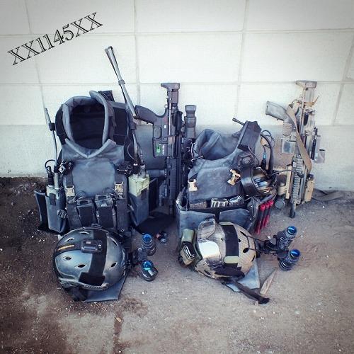 XX1145XX F2 装備