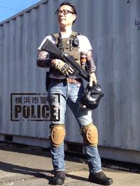 横浜市警察の標準的な装備