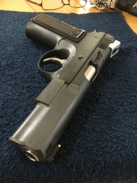 Cz75 Short Rail Custom reproduction ③