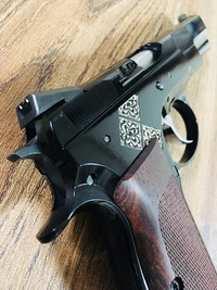 Cz75 Short Rail Custom reproduction ⑦(finish)