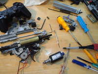 SCAR-L Mk16 メカボックス分解