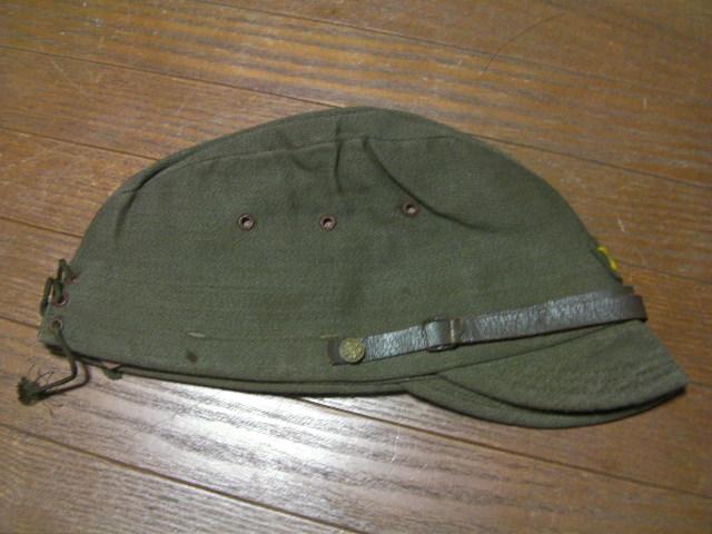大日本昭和十四年_日本陸軍軍装品:見習士官用戦闘帽