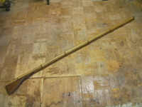 日本軍 陸軍 木銃 竹製