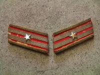 日本軍 陸軍 階級章 襟章 少佐