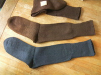 日本軍 陸軍 靴下 防寒用 私物