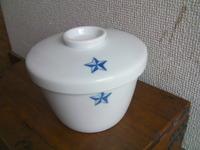 日本軍 陸軍 食器 汁椀 陶器 蓋付き