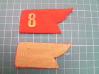 日本陸軍 襟章 兵科章 連隊番号