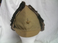 日本陸軍 防寒帽 初期型 将校用