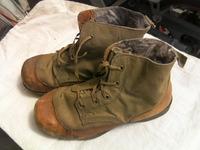 日本軍 陸軍 防寒靴 靴底ゴム製