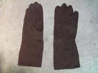 日本軍 陸軍 野戦用手袋 茶色