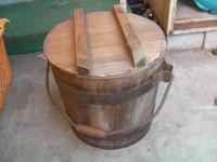 日本軍 陸軍 飯缶  木製