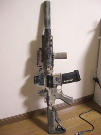 HK416 塗装してみた