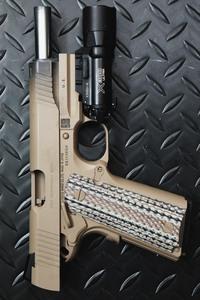 M45A1光速のスミ入れ&汚し塗装カスタム!