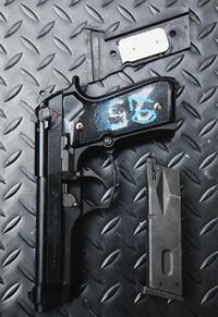 U.S.M9実物グリップ重量アップカスタム!