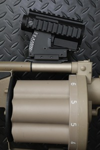 M2A1目盛りディテールアップ計画完了!