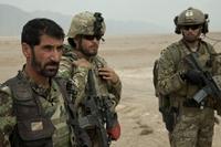パトロール中のグリーンベレーとアフガニスタン国軍について