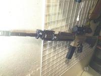 M16の長さにM4(?)